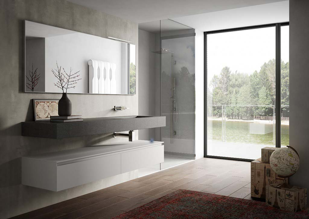Bathrooms for Arredo bagno colorato