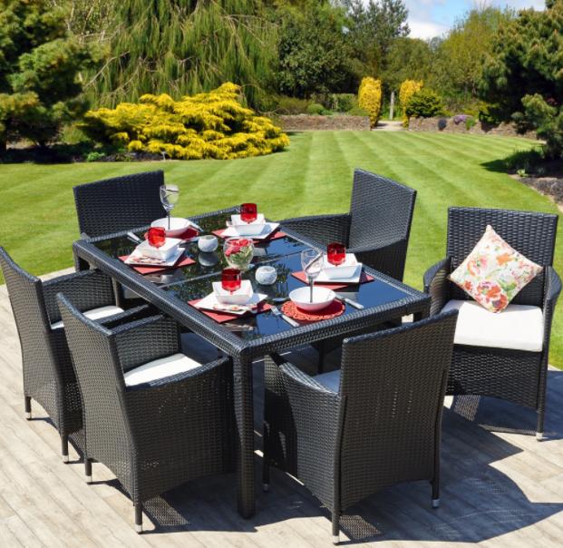 garden table set